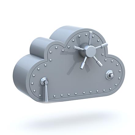 Secure cloud photo storage